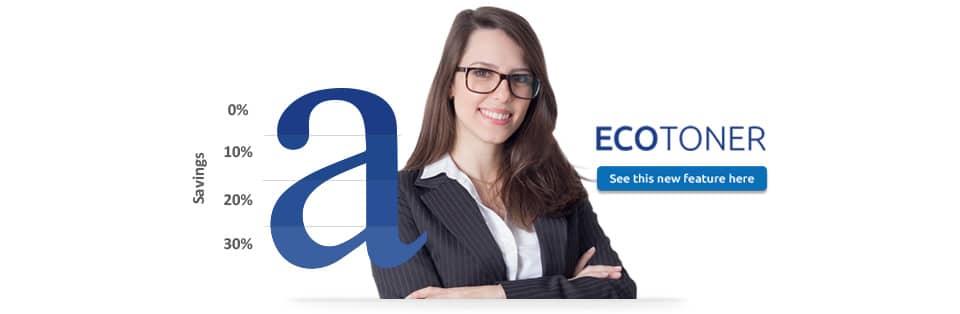 Ecotoner nddPrint - Save toner