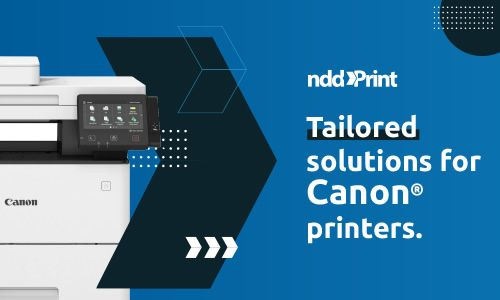 nddPrint for impressoras Canon